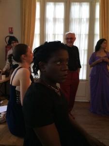 Répétition générale - Moulin d'Andé- Masterclass de chant