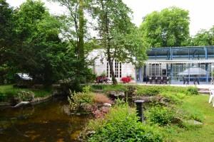 Salle de spectacle- vue extérieur - Moulin d'Andé - juin 2016