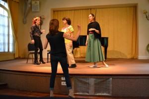 Cours de mise en scène - Agathe Prédour - Adeline Toniutti